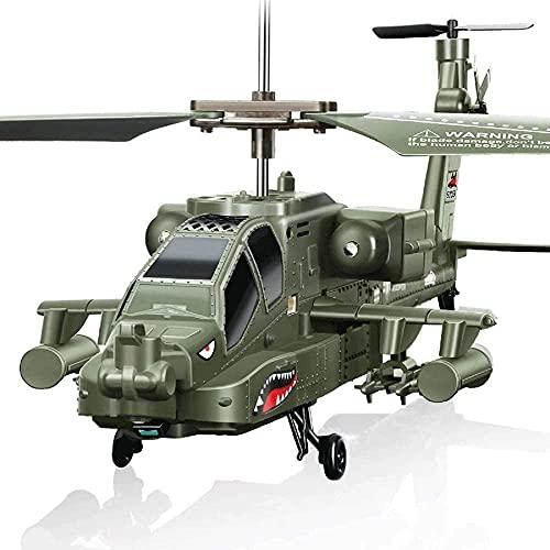Precio de fábrica Juguete Eléctrico Para Niños Simulación De 3.5 Canales Helicóptero Militar Aviones Control Remoto Anticolisión Y Anti-caída Simulador Apache S109G Mini Helicóptero Drone Niños Regalo