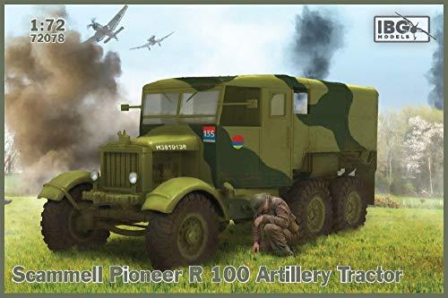 IBG 1/72 イギリス軍 スキャンメルパイオニアR100 重砲牽引車 プラモデル PB72078
