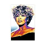 Sängerin Tina Turner 63 Leinwand-Poster, Schlafzimmer,