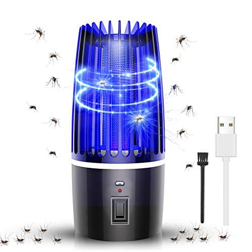 MGRETT Lámpara Antimosquitos Electrico, Mosquito Lámpara Trampa, UV Luz Electrico Mosquitos Killer,...