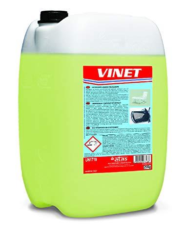 Vinet 10 l. Detergente Multiusos para Limpieza Interior de Vehículos. Apto para diversas Superficies