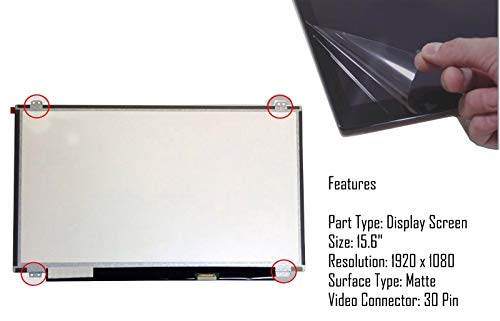 New Laptop Screen Replacement For Acer Aspire A315-51-35Z3 15.6' Inch Slim LED LCD Display 1920 X 1080 Full HD IPS Panel 30 Pin Matte/AG Non Touch UK Quick Dispatch
