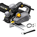 JELLAS Planer, 16,000rpm 850W Electric Planer with 82mm Width and 3mm Depth, Kickstand
