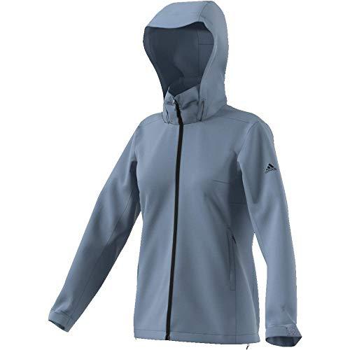 adidas Damen Wandertag Solid Colourway Jacke, Rawgrey, 42