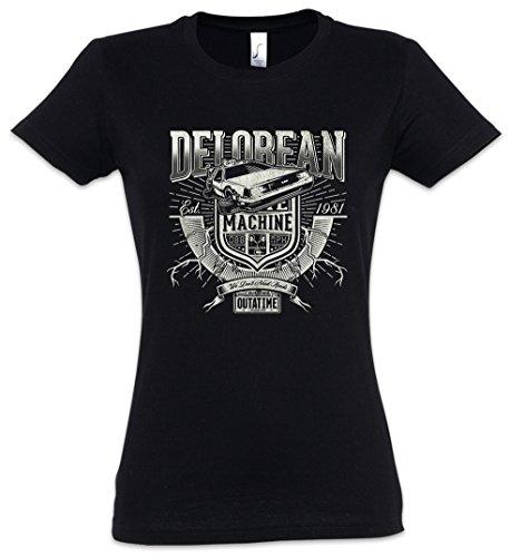 Delorean Time Machine Mujer Girlie Women...