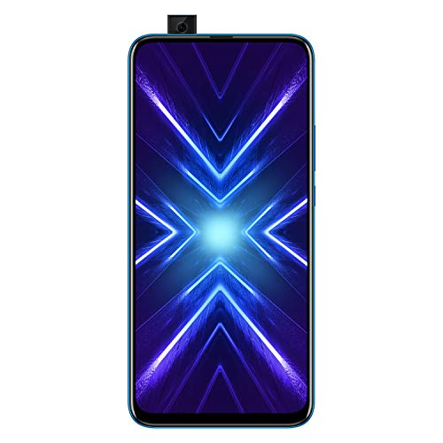 Honor 9X (Sapphire Blue, 4+128GB Storage)-Pop up Front Camera & 48MP Triple Rear Camera