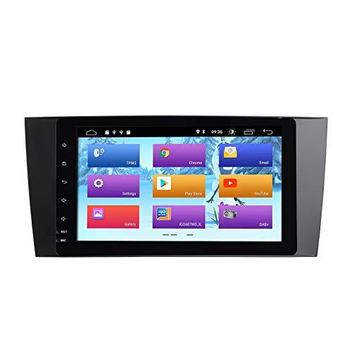 ZLTOOPAI Android 10 Autoradio für Mercedes Benz Sprinter W203 W209 A180 Viano Vito A-Klasse Auto Stereo GPS Navigation Auto GPS Media Player Unterstützung DSP IPS DAB WiFi OBD2 Lenkradsteuerung
