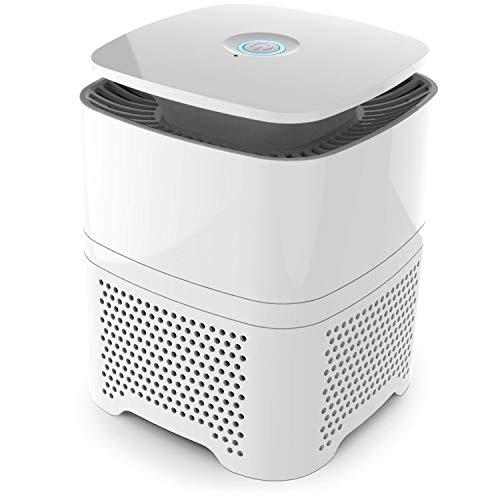 Pro Breeze Purificador de Aire 4 in 1 con Prefiltro, Filtro Auténtico HEPA & Filtro de Carbón Activado con Generador de Iones Negativos. Limpiador de Aire Personal de Escritorio para Alergias