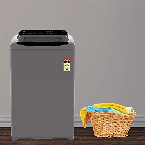 Whirlpool 7 kg 5 Star Fully-Automatic Top Loading Washing Machine (WHITEMAGIC ELITE 7.0, Grey, Hard Water Wash)