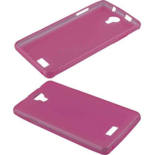 caseroxx TPU-Hülle für Archos 50D Neon, Handy Hülle Tasche (TPU-Hülle in pink)