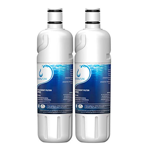 W10413645a W10238154 Water Filter Cap Replacement, Refrigerator Water Filter 2, Compatible with EDR2RXD1, Kenmore 46-9082, 46-9903, 9082, 9903-2PACK
