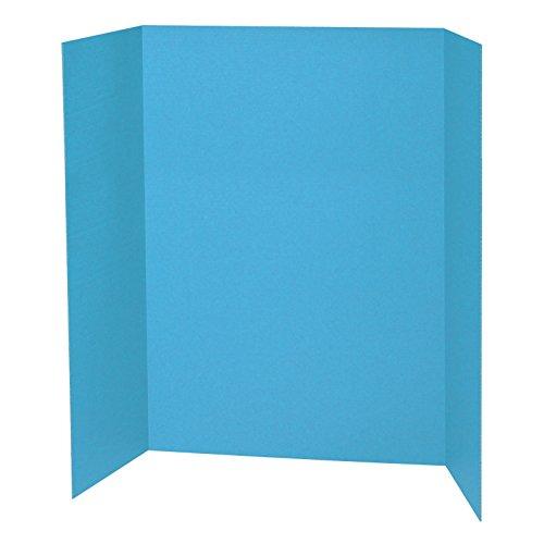 Pacon PAC3771 Presentation Board, 48' x 36', Sky Blue