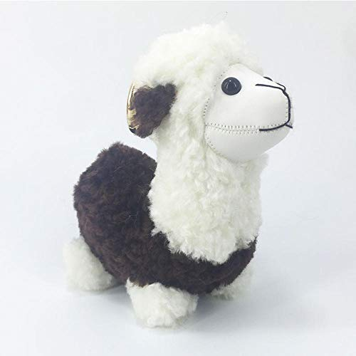 Sleutelhangers Voor Damesalpaca Speelgoed Sleutelhanger Alpaca Wol Verjaardagscadeau Baby Pluche Dier Sleutelhanger Kleur 6