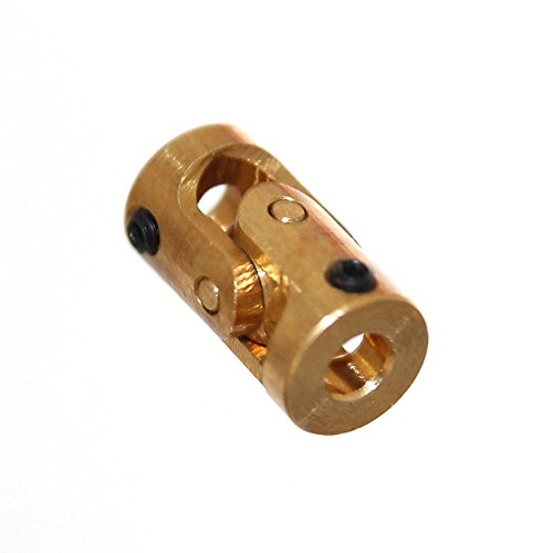 Joy-Button 1x Mini Kardangelenk 3mm Wellenkupplung für Modellbau Verbinder Schiffswelle Gelenkwelle Kreuzgelenk Wellenverbinder Neu (Ø3mm)