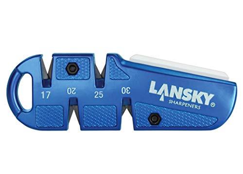 Lansky 290009 Quad Sharp Jagd- / Outdoormesser, Blau, 0