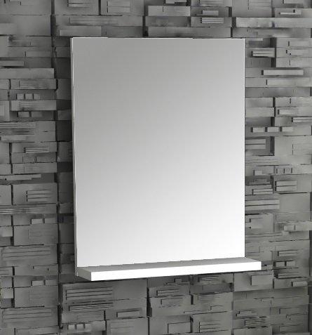VCM Spiegel Badspiegel Wandspiegel mit Ablage Badmöbel Sesal 60 x 35 x10 cm