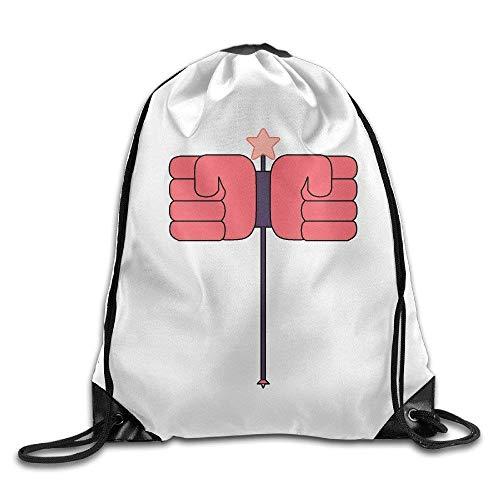 Sac de Sport à Cordon, Sac à Dos de Sport, Sac à Dos de Voyage, Steven Universe Sardonyx Drawstring Backpack Sack Tasche