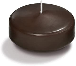 chocolate brown floating candles