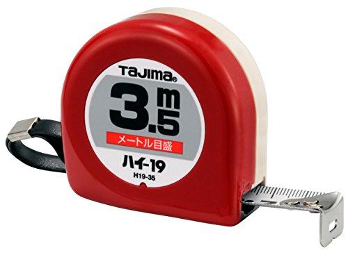 タジマ(Tajima) コンベックス 3.5m×19mm ハイ19(紙箱入) H19-35