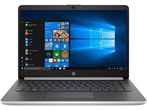 HP 14-dk0042nf PC Ultraportable 14' HD Argent (AMD Ryzen 3, RAM 4 Go, SSD 256 Go, AZERTY, Windows 10)