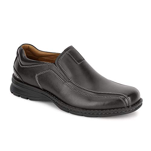 Dockers Men's Agent Slip-On,Black,10.5 M US
