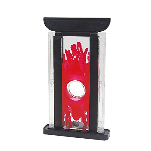 JINSUO GQZMBM New Creative Magic Trick Toy Props Tricks Toy Kids Finger Cutter Chopper Guillotine Magic Finger Hay Cutter Tool Magic Supplies (Color : Red)