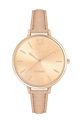 New Trend Unisex Armbanduhr Damen-Uhr Herren-Uhr Analog Quarzwerk Kunst-Leder-Armband Klassische Zeigeruhr mit Dornschließe und römischer Ziffer