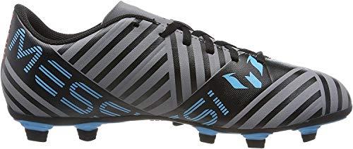 adidas Herren Nemeziz Messi 17.4 FxG Fußballschuhe, Grau (Grey/Footwear White/Core Black), 42 EU