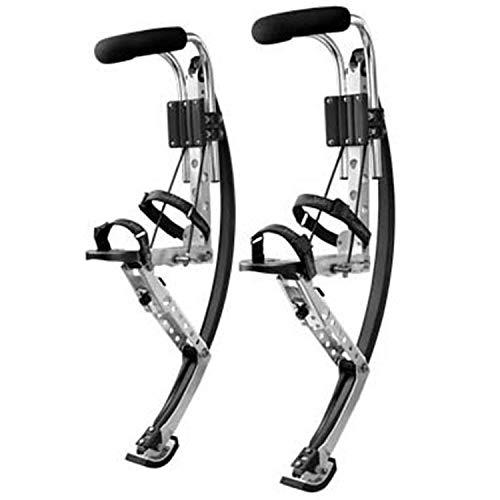 Känguruschuhe Sprungschuhe Sprungschuhe Sprungstöcke Sprungausrüstung Hüpfen Stelzen Elastische Schuhe Erwachsene Extremsport, schwarz