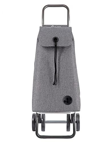 Rolser Carro I-MAX Tweed 4 Ruedas - Gris