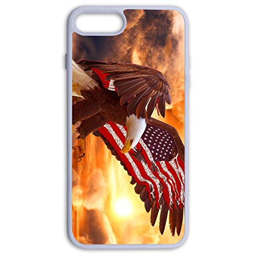 Mipructmipruct Eagle Wallpaper American Flag Iphone 7 8 Plus Heavy Duty Shockproof Rugged Protection Cover Soft Phone Case Dailymail