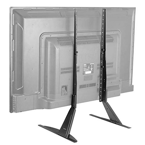 VIVO Universal TV Tabletop Stand for 27 to 55 inch LCD Flat Screens, VESA Mount Base STAND-TV00T