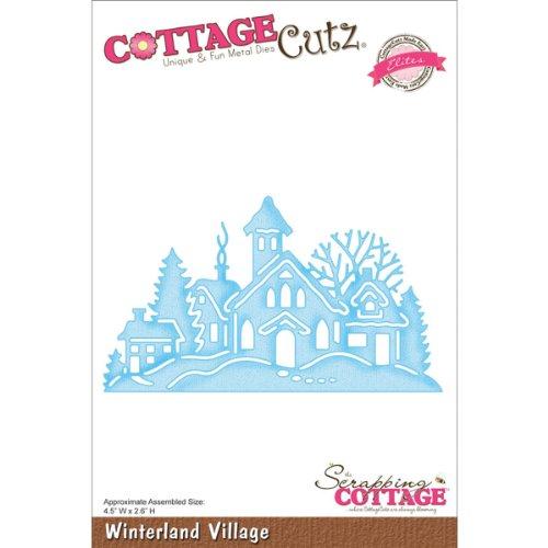 CottageCutz CCE054 Elites Die Cuts, 4.5 by 2.6-Inch, Winterland Village