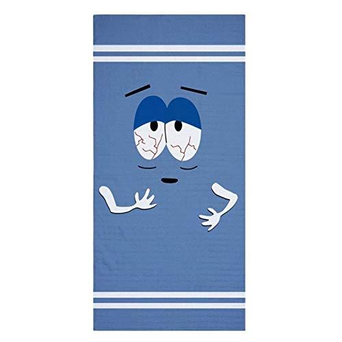 Towelie Gran Tumbona En La Playa Toalla Del Recorrido Toallas De Baño Conjunto De Adult Large Sport Ligera Toalla De Cara Gimnasio Hombres 140x70 Winter ( Color : Towelie , Size : 35x75cm Face Towel )