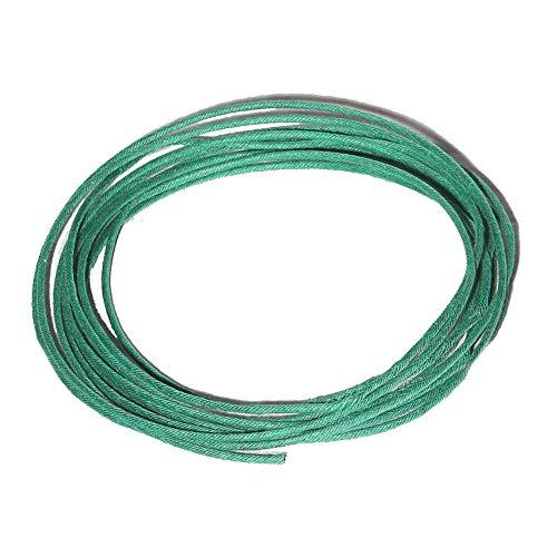 KJG Anzündlitze Grün - 5 Meter - 2,5mm - 1 cm/s Brennzeit