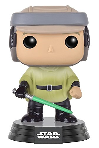 Funko Pop!- Bobble Star Wars: Endor Luke Figura de acción (10106)