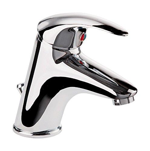 'aquaSu® Einhandmischer Nico für Waschtisch   Chrom   Wasserhahn   Einhebelmischer