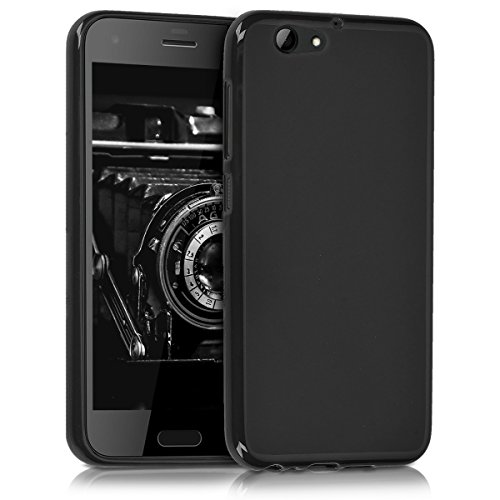 kwmobile HTC One A9s Hülle - Handyhülle für HTC One A9s - Handy Case in Schwarz matt