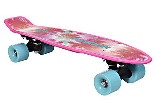 FREEGUN Palmiers - Skateboard da Ragazza, Taglia Unica, Colore: Rosa