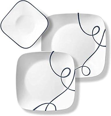 Huzmirg Chip Resistant Dinnerware Sets 2445