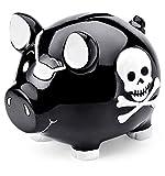 Mousehouse Gifts - Tirelire à thème pirate - pour enfant - fille/garçon