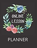 Online Lesson Planner: A Virtual Teacher Agenda for Class Organization and Planning. Year At a Glance. 120 Pages of Lesson Plans. 30 Pages of Grade ... . Total 152 High Quality White Pages.
