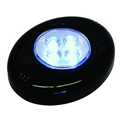 Carpoint 1523451 plafondlamp 4 leds, zwart