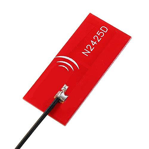 LUZIWEN 2.4G/5.8G banda dual 5DBi alta ganancia PCB FPV antena IPEX/UFL conector 13 cm para WiFi bluetooth módulo