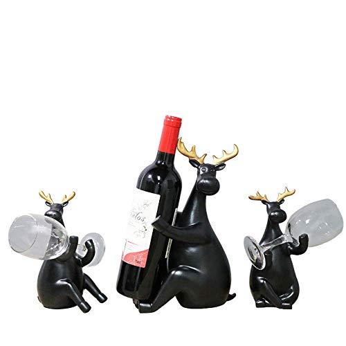 ShiSyan Decoraciones del Arte del Arte del Vino más Fresco decoración Comedor botellero casa Ciervos Cocina Comedor Mesa