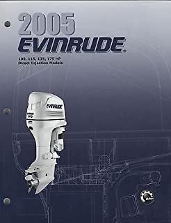 2005 EVINRUDE OUTBOARD 100, 115, 135, 175 HP SERVICE MANUAL P/N 5005976 (103)