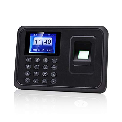 Máquina biométrica inteligente de asistencia de contraseña de huellas dactilares Empleado Comprobación de nómina Registrador Pantalla de 2,4 pulgadas