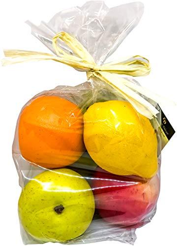 Decorative Lifelike Realistic Artificial Fake Fruit Decor Assortment Lot of 6