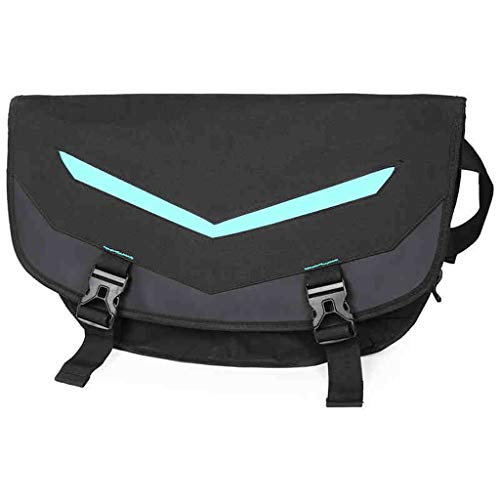 CKH Backpack Creative V-shaped Luminous Bag Men's Fashion One-Shoulder Bag Leisure Backpack