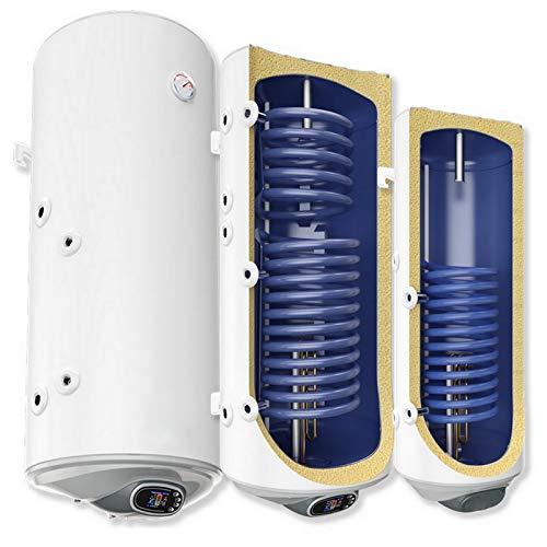 wandhängende elektrische Warmwasserspeicher/Solarspeicher mit SMART Control - 1 oder 2 Wärmetauscher - mit 2kW oder 3kW - Anschlüsse links oder rechts - 80 100 120 150 200 Liter